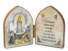 Oltárik: Panna Mária Fatimská (7,5CM-07)