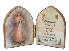 Oltárik: Božie milosrdenstvo (7,5CM-05z.)