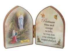 Oltárik: Panna Mária Lurdská (7,5CM-04)
