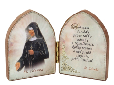 Oltárik: Bl. sestra Zdenka (7,5CM-02)