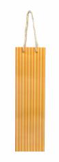 Darčeková taška: na víno - žltá (TOR-0939)