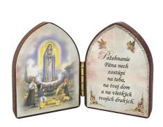 Oltárik: Panna Mária - Fatima (5,5CM-08)