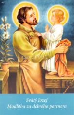 Obrázok: Sv. Jozef (187/229) - Modlitba za dobrého partnera, laminovaný