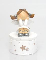 Šperkovnička: anjel (3877-B)