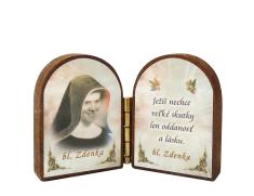 Oltárik: Bl. sestra Zdenka - tvár (4CM-08)