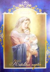 Kalendár: Katolikus naptár - 2019 (Via) - nástenný katolícky kalendár v maďarskom jazyku