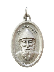 Medailón: sv. Charbel (FM022s)