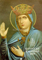Kalendár: katolícky, nástenný - 2019 (SSV)