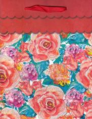Darčeková taška: Kvety (K1403942-A)