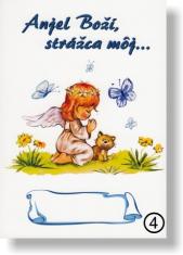 Obrázok: Anjel Boží, strážca môj...(4) - na dreve