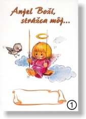 Obrázok: Anjel Boží, strážca môj...(1) - na dreve