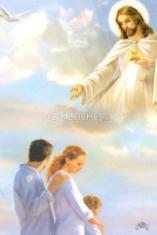 Obrázok: Modlitba za zachovanie manželstva a rodiny (Z018) - laminovaný