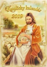 Kalendár: katolícky, nástenný - 2019 (ZAEX)