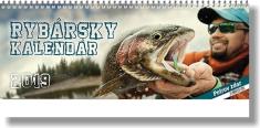 Kalendár: Rybársky, stolový - 2019