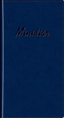 Minidiár: modrý - 2019 - vreckový