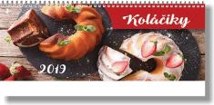 Kalendár: Koláčiky, stolový - 2019
