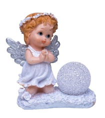 Anjel: so svietiacou guľou (XQ754097B)