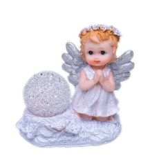 Anjel: so svietiacou guľou (XQ732098A)