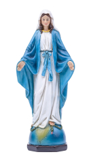 Soška: Panna Mária Zázračná medaila - 13 cm (JS93586A)