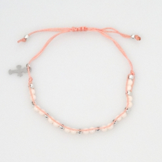Náramok: desiatok - ružový (BD010)