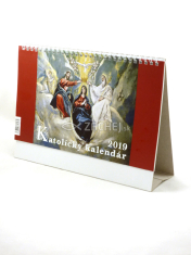 Kalendár: katolícky, stolový - 2019 (NEO)