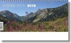 Kalendár: Vysoké Tatry, stolový - 2019 (NEO)