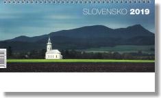 Kalendár: Slovensko, stolový - 2019 (NEO)