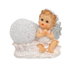 Anjel: so svietiacou guľou (XQ738099B)