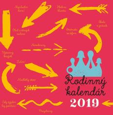 Kalendár: rodinný, nástenný - 2019 (SSV)