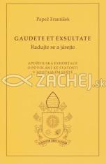 Gaudete et exsultate - Radujte se a jásejte (český) - O povolání ke svatosti v současném světe