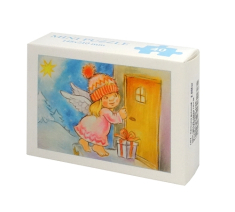 Mini Puzzle: Anjelik s darčekom (MP005) - 40 dielov