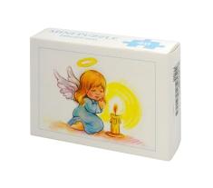 Mini Puzzle: Anjelik so sviečkou (MP003) - 40 dielov