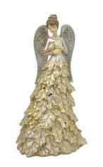 Anjel: s holubicou - 20 cm (2156-B)