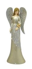 Anjel: s holubicami - 22 cm (2142-B)