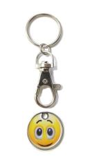Kľúčenka: Smajlík, kovová (PB18.031-B)