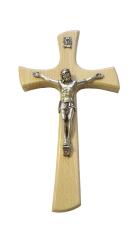 Kríž: drevený - prírodný (KVZ014)