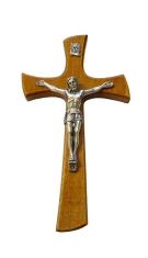 Kríž: drevený - hnedý (KVZ014)
