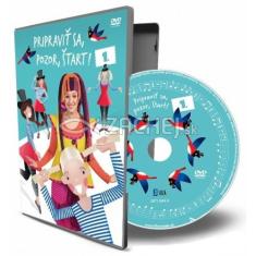 DVD: Pripraviť sa, pozor, štart! - s pesničkami skupiny BABY BAND