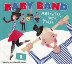 CD: Baby Band - Pripraviť sa, pozor, štart!
