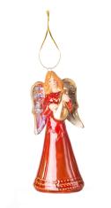 Anjel: zvonček - červený (FP14001-B)