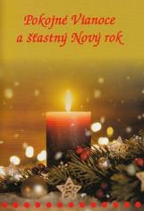 Pokojné Vianoce a šťastný Nový rok