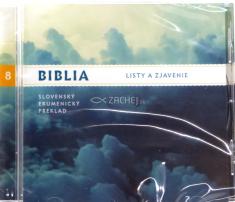 CD: Biblia - Listy a Zjavenie - Slovenský ekumenický preklad