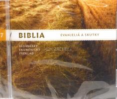 CD: Biblia - Evanjeliá a Skutky - Slovenský ekumenický preklad