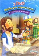 2 DVD: Biblia pre najmenších - 52 animovaných príbehov