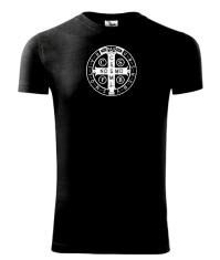 Tričko: Benediktínske (M) - čierne