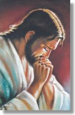 Kalendár: kartičkový - Modliaci sa Pán Ježiš - 2019 (ZAEX)