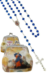 Ruženec: Rozväzovačka uzlov - modrý (1071-E E0251) - s púzdrom