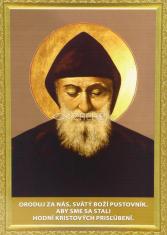 Obrázok: Svätý Šarbel - A5 - s modlitbou