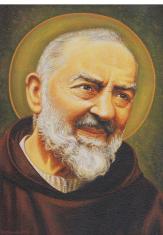 Obraz na dreve: Sv. Páter Pio (ODZ042)