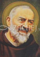 Obraz na dreve: Sv. Páter Pio (ODZ041)